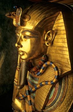 Tutankhamun's coffin lid