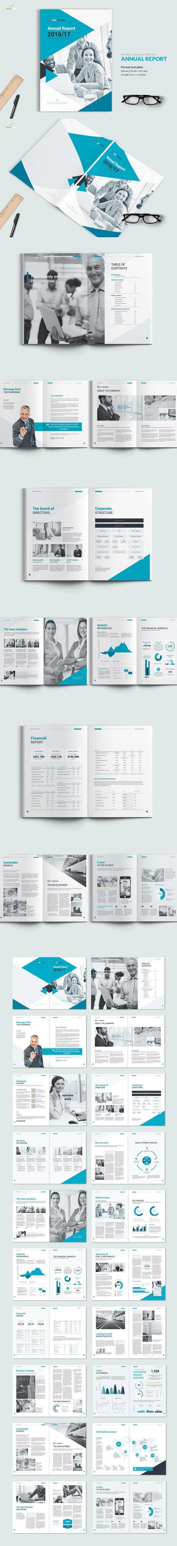 Annual Report 2016. Annual Report Templates. $12.00