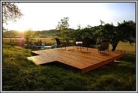 Image result for free standing deck designs