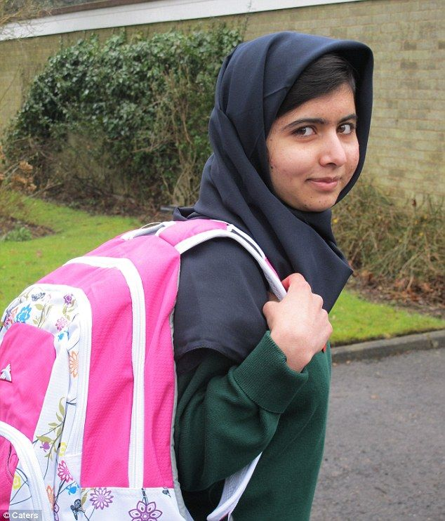 From Pakistan to Birmingham: Malala Yousafzai, 15, was gunned down by the Taliban in revenge for her campaigning on girls' education, but today began her studies at Edgbaston High School for Girls