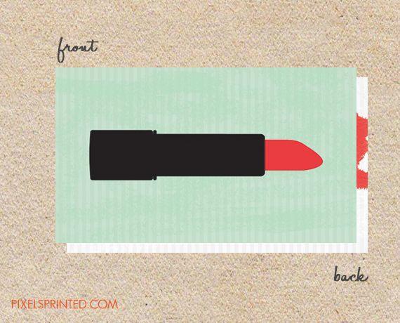 make up artist business cards, make-up artist business cards