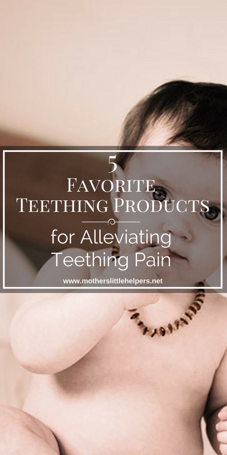 """Is your baby irritable and unhappy due to teething? Check out my article """"5 Products That Will Help You Soothe Your Teething Baby"""" for some quick solutions.  