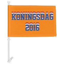 Hup Holland Hup, Netherlands Dutch #Koningsdag2016 #Car #Flag