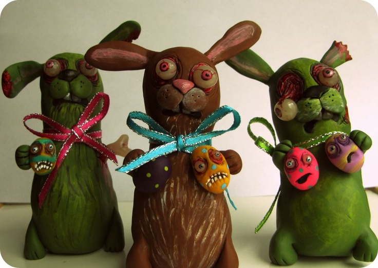 129 best Easter, All Zombie Easter images on Pinterest | Zombies ...
