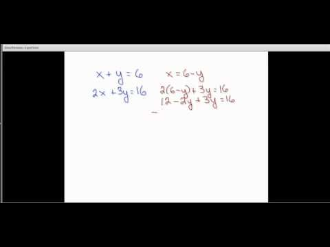 GRE Algebra: Combination and substitution for simultaneous equations  | Kaplan Test Prep