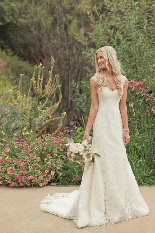 casamento no campo vestido