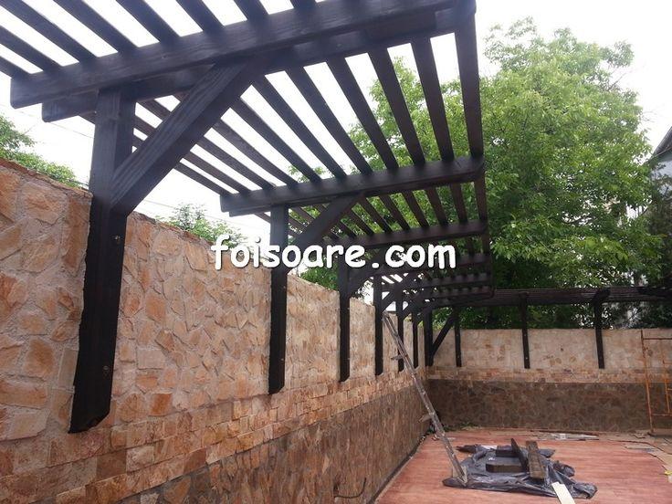 terase din lemn cu beton amprentat bucuresti