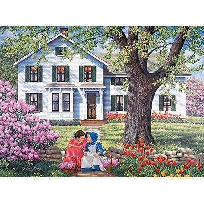 Set Of 2: Childhood Memories 1000 Piece Jigsaw Puzzles
