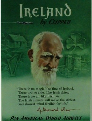 """There is no magic like that of Ireland, There are no skies like Irish skies...."" - George Barnard Shaw"
