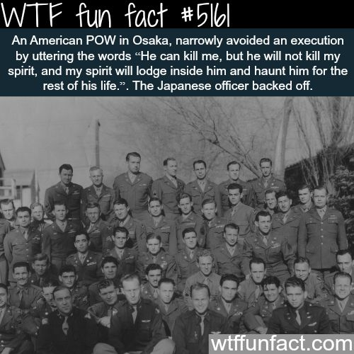 How an American prisoner of war avoided execution - WTF fun facts