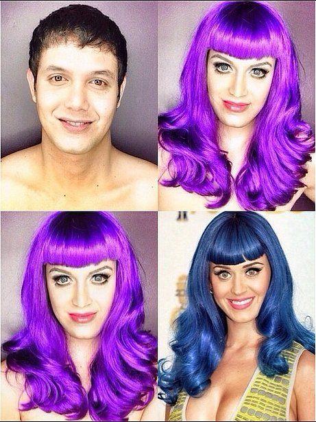 Paolo Ballesteros Makeup Transformation into Katy Perry