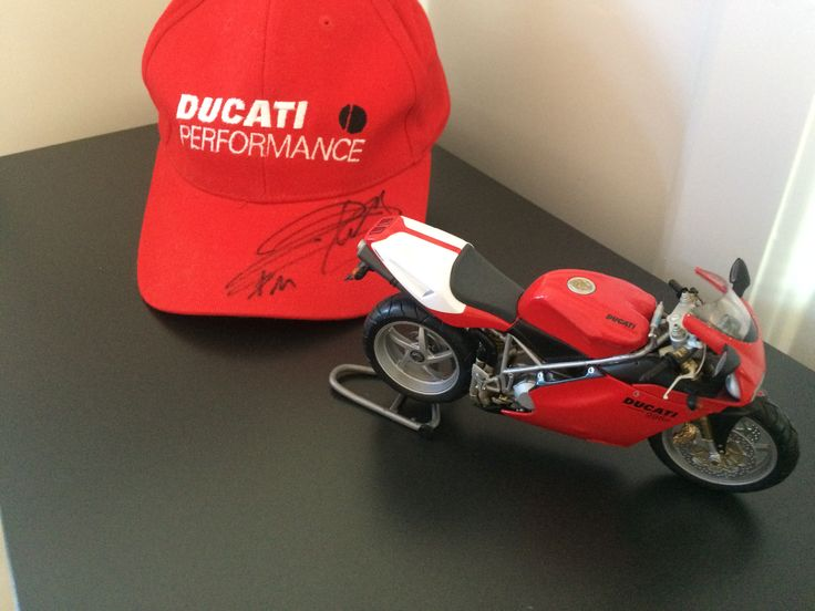 #Ducati #minichamps #signed #performance #Ruben #Xaus