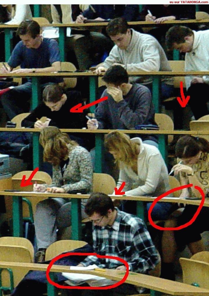 40 best Cheating in class / La triche en classe images on Pinterest ...