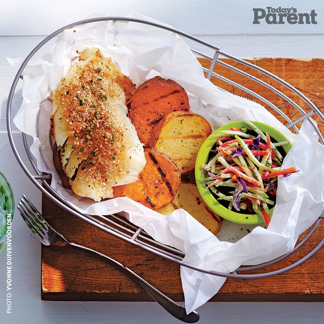 Grilled-Fish-and-Chips