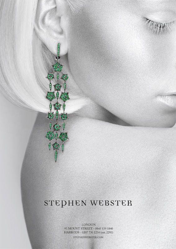 Stephen Webster Advertising Jewellery