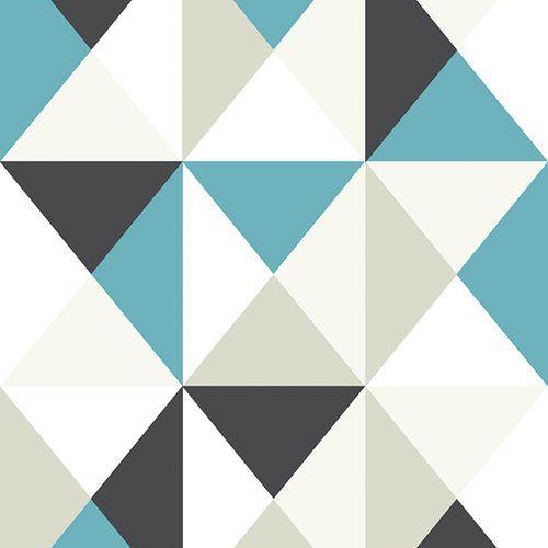 Papel de parede - POLYGONE - Leroy Merlin Quilt block Pinterest - Leroy Merlin Store Exterieur