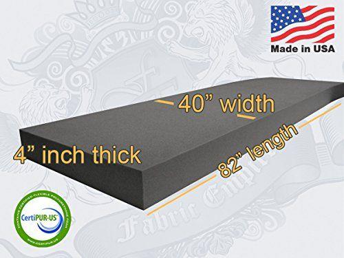 40 X 82 Upholstery Rubber Foam Sheet