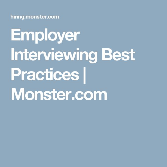 Employer Interviewing Best Practices - proper font size for resume