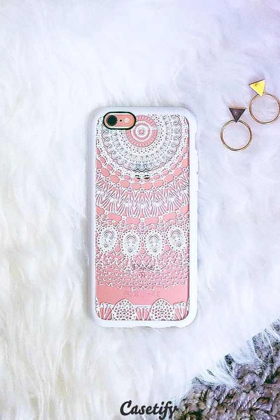 Click through to see more Mandala Lace iPhone 6 phone case designs. Come on, lace lovers! >>> https://www.casetify.com/collections/lace/ | @casetify