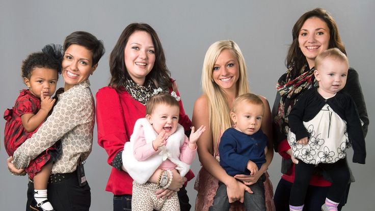 In 16 and Pregnant, they were moms-to-be. Now, follow Farrah, Maci, Amber, and Catelynn as they face the challenges of motherhood. Each episode interweaves these stories revealing the wide variety of challenges young mothers can face: marriage, relationships, family support, adoption, finances, graduating high school, starting college, getting a job, and the daunting and exciting step of moving out to create their own families.