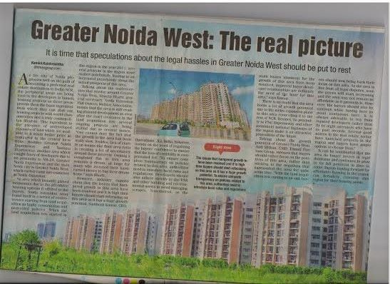Greater Noida West - The Real Picture #futureworldcare