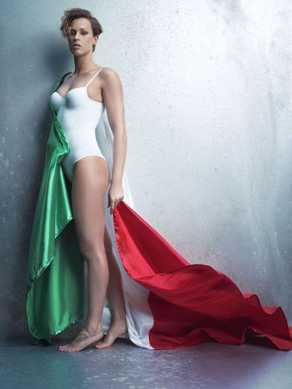 Olimpiadi Londra 2012: Federica Pellegrini e Tania Cagnotto per Yamamay, la campagna pubblicitaria