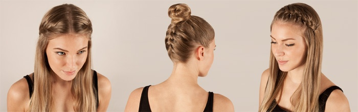 We show you the basics for the inbraided braid and different variations with it!