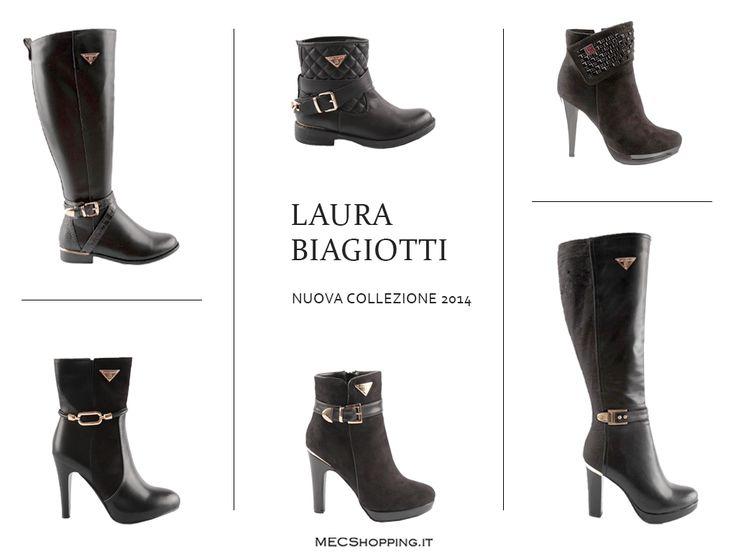 Venite a scoprire la nuova collezione scarpe LAURA BIAGIOTTI!  Stivaletti: http://www.mecshopping.it/shop/scarpe/scarpe-donna/stivalettidonna/stivaletto-ecopelle-laura-biagg.html http://www.mecshopping.it/shop/scarpe/scarpe-donna/stivalettidonna/stivaletto-42748.html http://www.mecshopping.it/shop/scarpe/scarpe-donna/stivalettidonna/stivaletto-ecopelle-laura-biagiotti-40101.html Stivali: http://www.mecshopping.it/shop/scarpe/scarpe-donna/stivalicontacco/stivale-42657.html