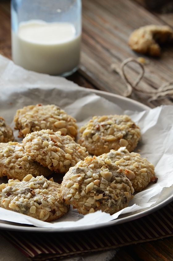 Toasted Hazelnut Chocolate-Espresso Cookies Prep Time: 25 minutes Cook ...