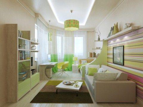 Children's bedroom interior design – good colors