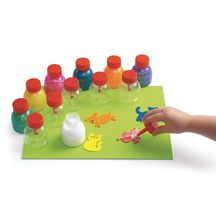 I NEEEED THESE!   No more glue PUDDLES!  I'm so putting these on our Homeschooling wish list.
