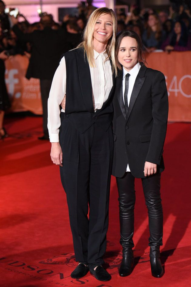 Ellen page girlfriend