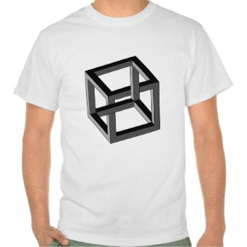 Optical Illusion - Impossible Cube