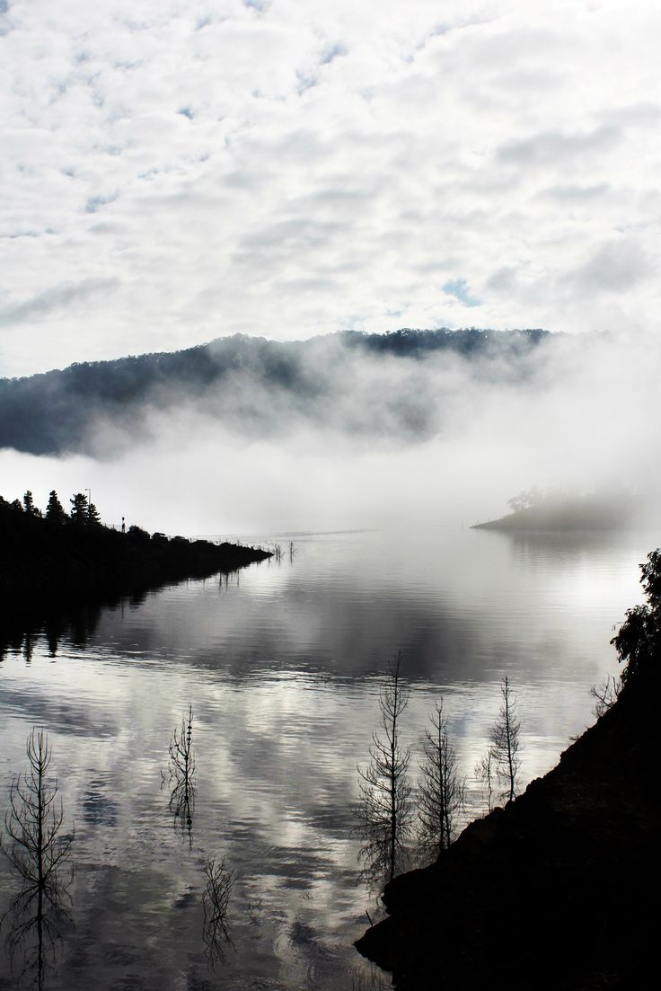 Reflections and mist (Lake eildon, Vic)