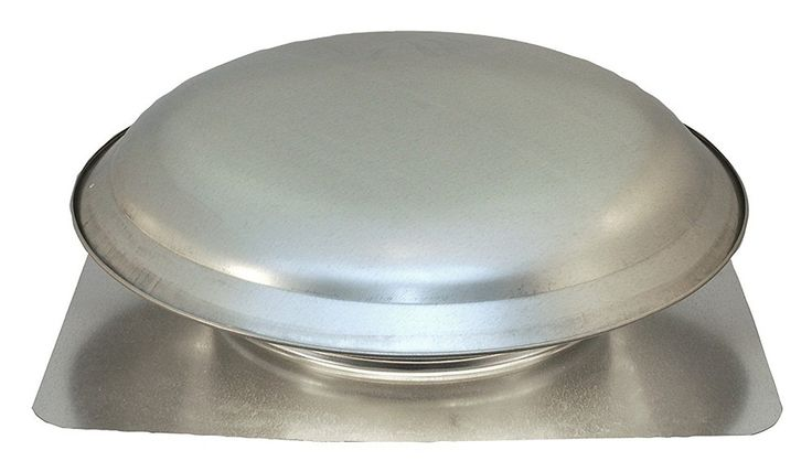 Cool Attic CX3000EEAM Power Roof Galvanized Steel Vent Dome with 2.1 Amp Energy Efficient PSC Motor, Mill ** Check out this great product.