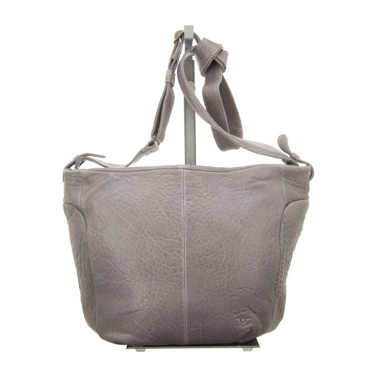 NEU: Voi Leather Design Handtaschen Beutel - 30424 GR - grau -