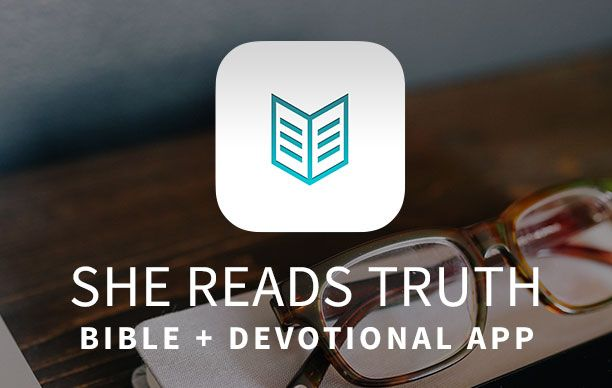 She Reads Truth is an online site geared towards women which provides reading plans and devotionals. You can sign up for emails or even use the app. They also have a great guide to read through the Bible in 365 days!: