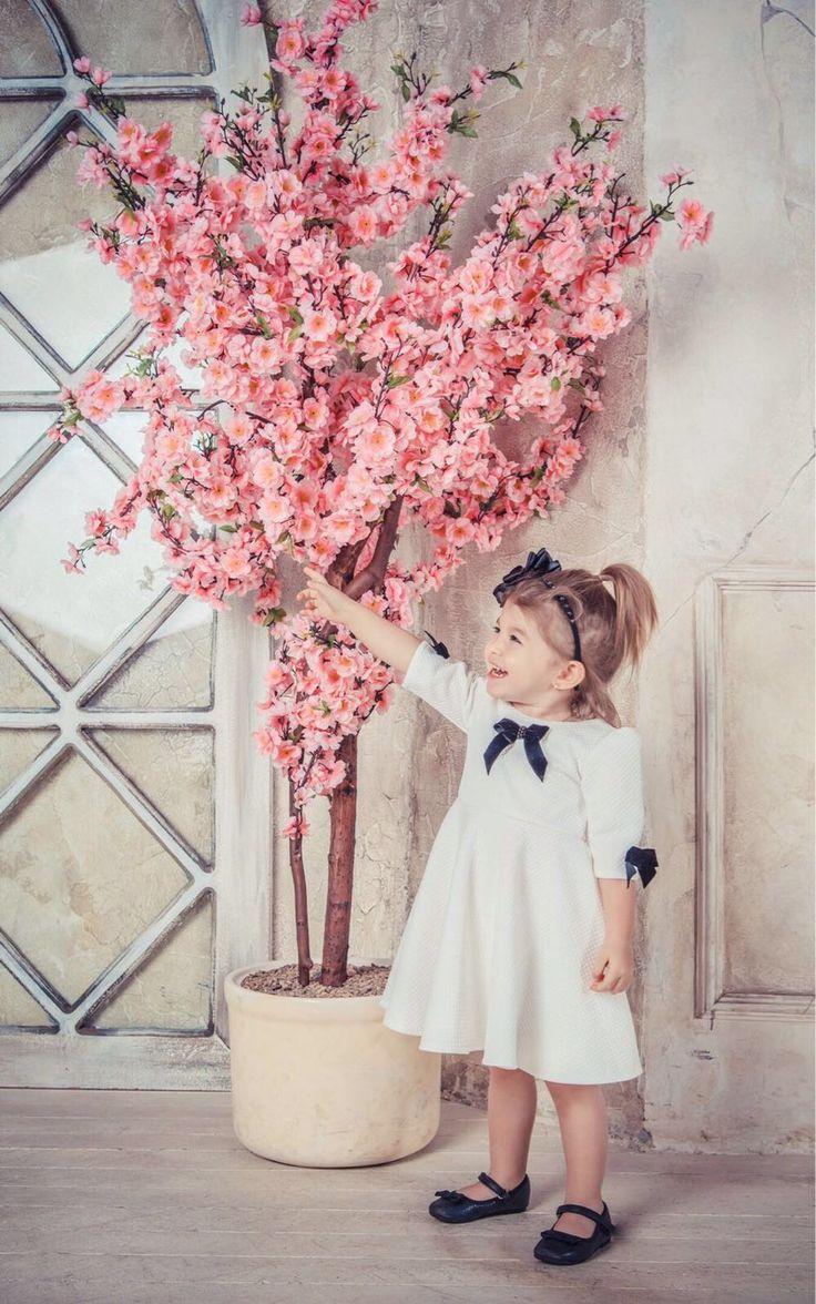 Платье с бархатными бантиками - платье, бархат, бархатная лента, солнце, юбка солнце