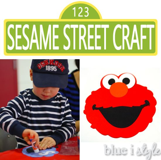 Instructions For A Simple Sesame Street Craft Project Toddlers