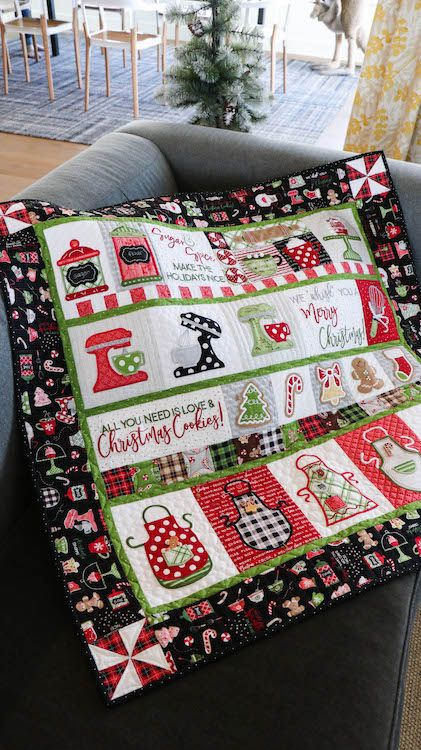 """Kimberbell Wir """"SCHLAGEN"""" Ihnen frohen Weihnachten! Quilt Kit * Vorbestellungen * – My Girlfri …   – It is the most wonderful time of the year!"""