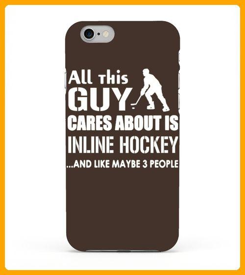 Inline Hockey Shirt Care About Inline Hockey Tshirt - Hockey shirts (*Partner-Link)