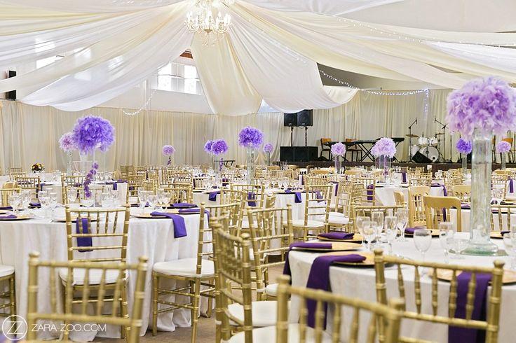 Purple and Gold Traditional African Wedding - ZaraZoo Photography