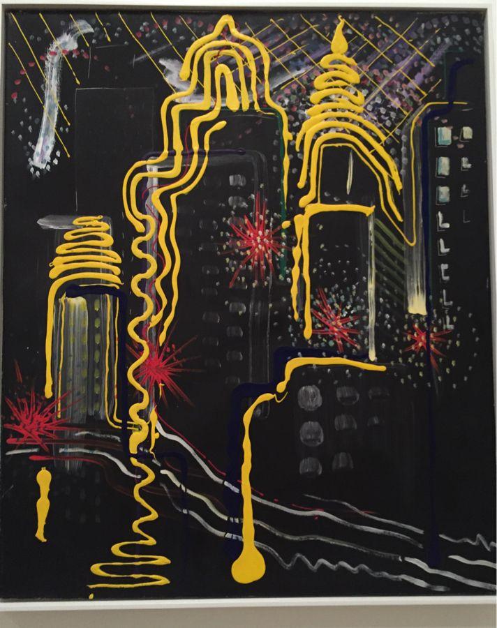 City painting II (NY), Sigmar Polke