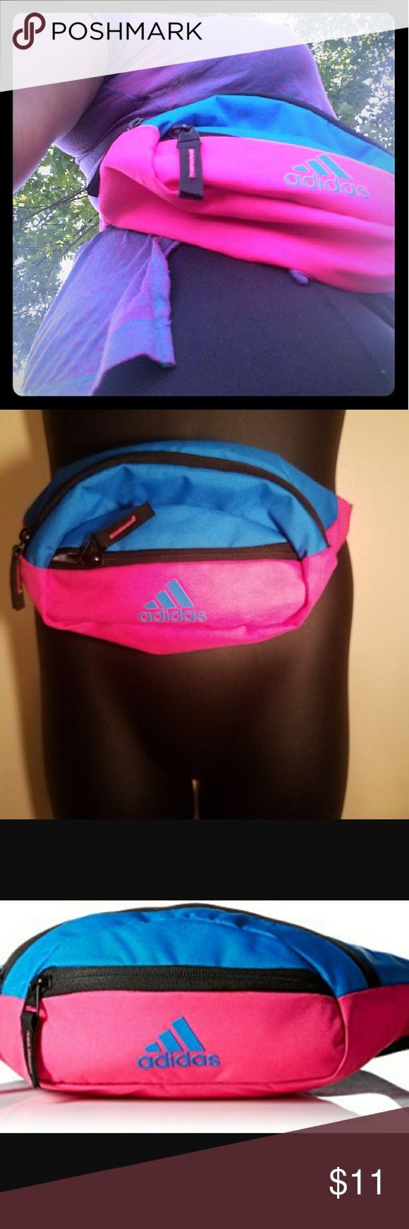 Adidas Fanny Pack Nice size fanny pack. Rarely used. adidas Bags Mini Bags