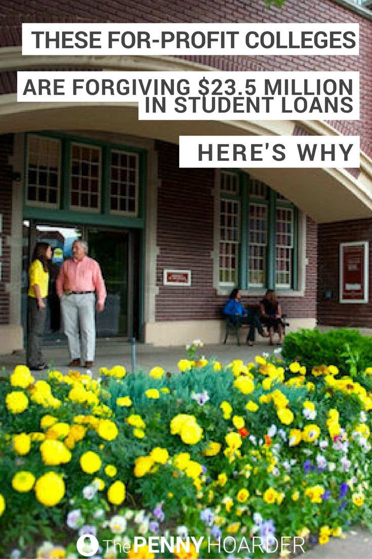If you took out private loans to attend these two for-profit colleges, you might get a refund — or complete student loan forgiveness. @thepennyhoarder