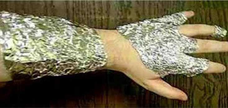 É inacreditável o que uma simples folha de papel de alumínio pode fazer ao nosso corpo!
