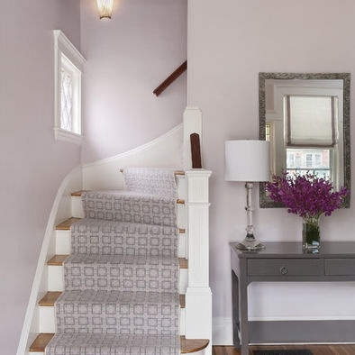 Staircase: Decor, Wall Colors, Ideas, Paintings Colors, Interiors Design, Studios Interiors, Stairs Runners, House, Benjamin Moore