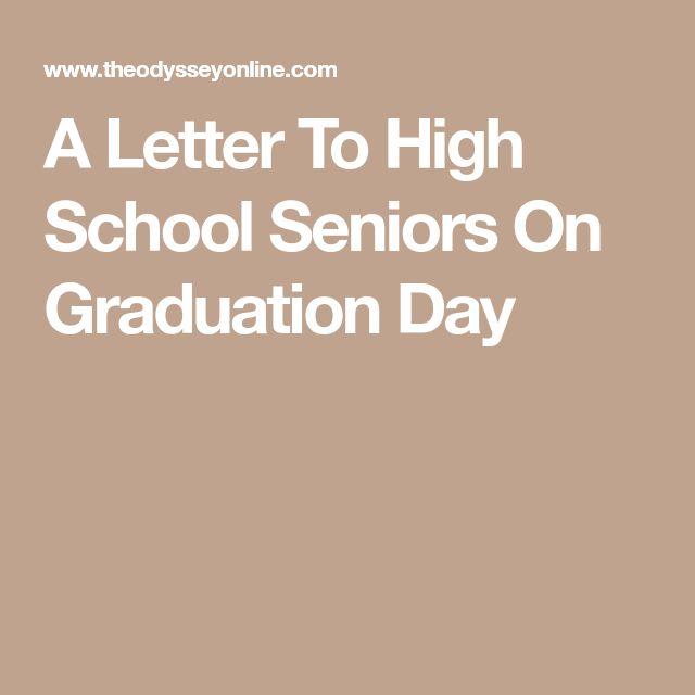 Best  High School Seniors Ideas On   High School