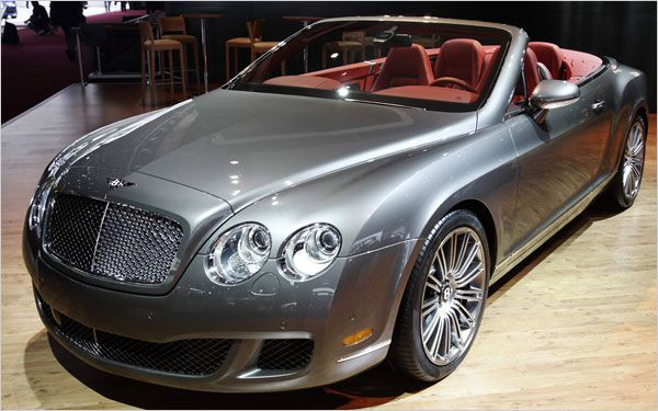 Detroit Auto Show - Bentley Continental GTC Speed Convertible - A Bentley With Beauty Beyond Grasp - List - NYTimes.com