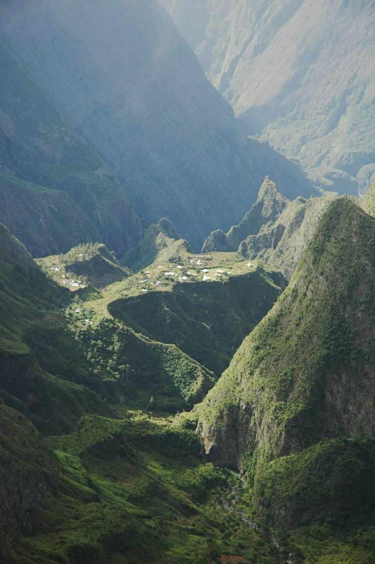 Île de la Réunion ilets Cirque de Mafate